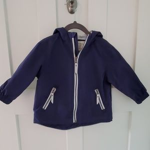 Hanna Andersson rain jacket size 80-85 or 2T